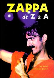 Cover of: Zappa de Z à A