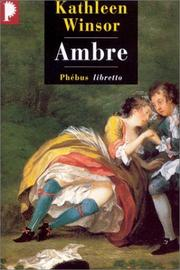 Cover of: Ambre