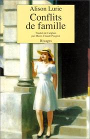 Cover of: Conflits de famille