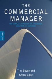 Cover of: The Commercial Manager
