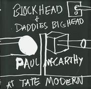 Cover of: Paul McCarthy at Tate Modern
