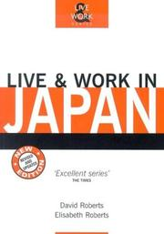 Cover of: Live & Work in Japan, 2nd (Live & Work - Vacation Work Publications)