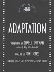 Cover of: Adaptation (Shooting Scripts)