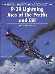 Cover of: P-38 Lightning Aces of the Pacific and CBI