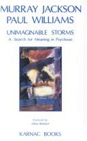 Cover of: Unimaginable Storms
