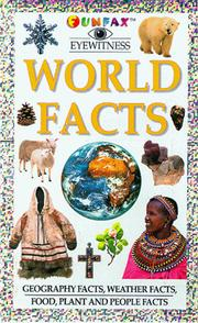 Cover of: World Facts (Funfax Eyewitness Books)