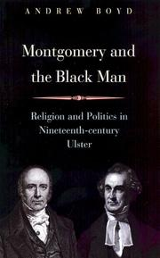 Cover of: Montgomery And the Black Man