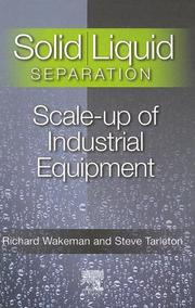 Cover of: Solid/Liquid Separation