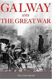 Cover of: Galway and the Great War