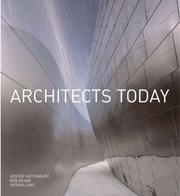 Cover of: Architects Today