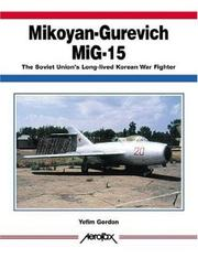 Cover of: Mikoyan-Gurevich MIG-15