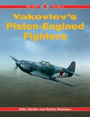 Cover of: Yakovlev's Piston-Engined Fighters -Red Star Volume 5 (Red Star)