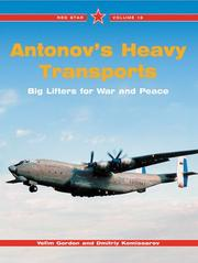 Cover of: Antonov's Heavy Transports-Red Star V18 (Red Star)