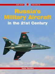 Cover of: Russia's Military Aircraft of the 21st Century (Red Star)
