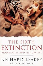 Cover of: The Sixth Extinction (Science Masters)