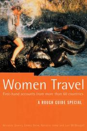 Cover of: Women travel