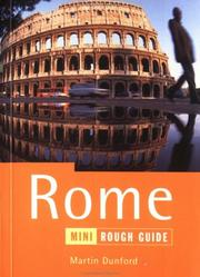 Cover of: The Mini Rough Guide to Rome, 1st Edition (Rough Guide Mini Guides)