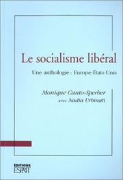 Cover of: Le socialisme libéral : Une anthollgie