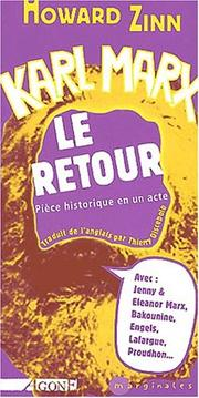 Cover of: Karl Marx, le retour