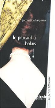 Cover of: Le Placard à balais