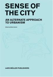 Cover of: Sense of the City