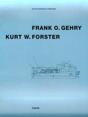 Cover of: Frank O. Gehry, Kurt W. Forster