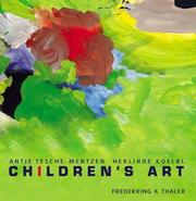 Cover of: Children's Art