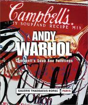 Cover of: Campbell's Soup Boxes