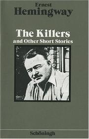 Cover of: The Killers and Other Short Stories.