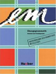 Cover of: Em Ubungsgrammatik Deutsch Als Fremsprache