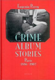 Cover of: Crime Album Stories