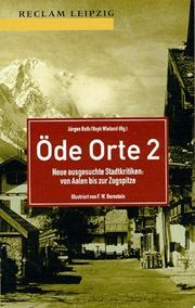 Cover of: Öde Orte 2.