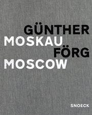 Cover of: Günther Förg