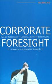 Cover of: Corporate Foresight
