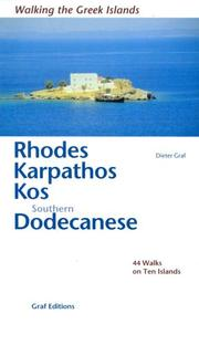 Cover of: Rhodes Dodecanese Samos (Walking the Greek Islands)