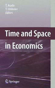 Cover of: Time and Space in Economics