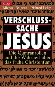 Cover of: Verschlußsache Jesus.