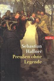 Cover of: Preußen ohne Legende