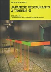 Cover of: Japanese Restaurants & Taverns