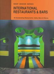 Cover of: International Restaurants & Bars