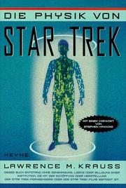 Cover of: Die Physik von Star Trek.