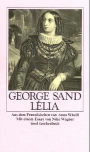 Cover of: Lelia: Espiridion