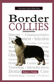Cover of: A new owner's guide to border collies