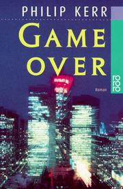 Cover of: Game over