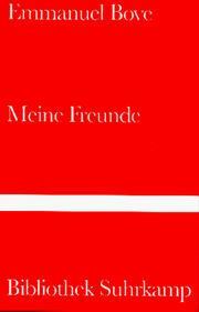Cover of: Meine Freunde.
