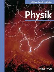 Cover of: Physik (Biotechnology: a Multi-Volume Comprehensive Treatise)
