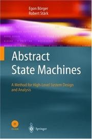 Cover of: Abstract State Machines