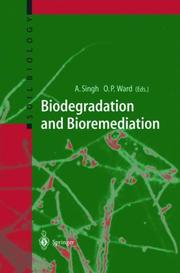 Cover of: Biodegradation and bioremediation
