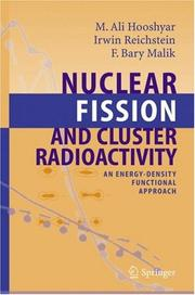 Cover of: Nuclear Fission and Cluster Radioactivity