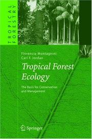 Cover of: Tropical Forest Ecology